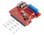 [로봇사이언스몰][Pololu][폴로루] Pololu Dual G2 High-Power Motor Driver 18v18 for Raspberry Pi (Assembled) #3751