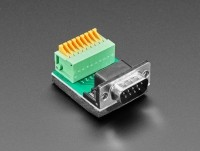 [로봇사이언스몰][Adafruit][에이다프루트] DE-9 (DB-9) Male Plug to Terminal Spring Block Adapter ID:4512